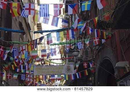Quartieri Spagnoli (spanish Quarters)