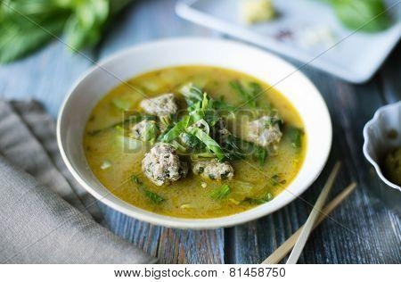 Basil Curry with Pork