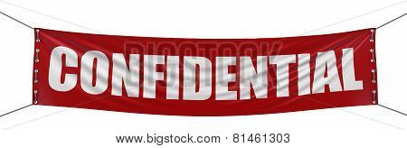 Confidential banner (clipping path included)
