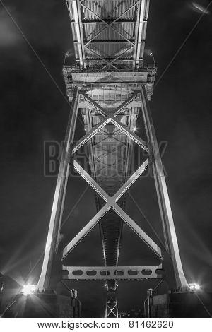 Under the Lions Gate Bridge