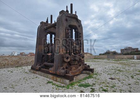 Huge industrial machinery
