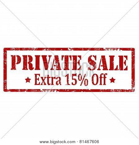 Private Sale-stamp