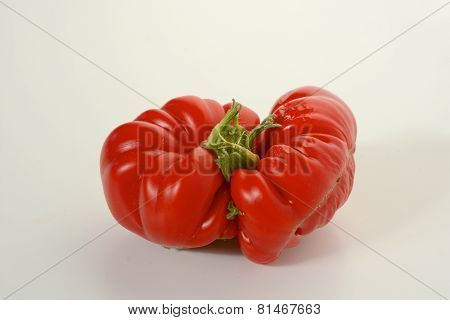 Mis-shaped Red Tomato
