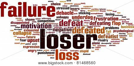Loser Word Cloud