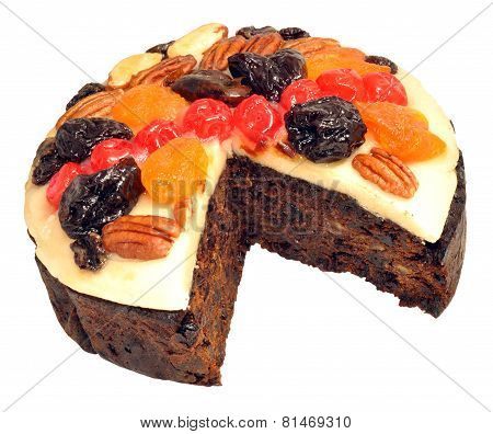 Decorated Fruit Cake