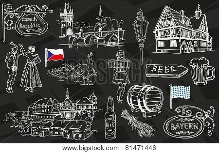 Czech Republic And Bavaria