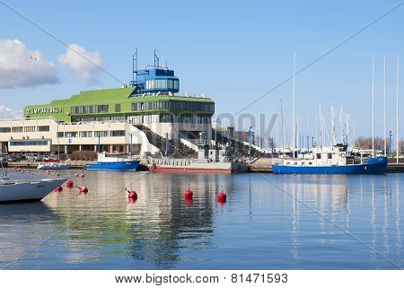 Tallinn. Estonia. Olympic Sailing Center