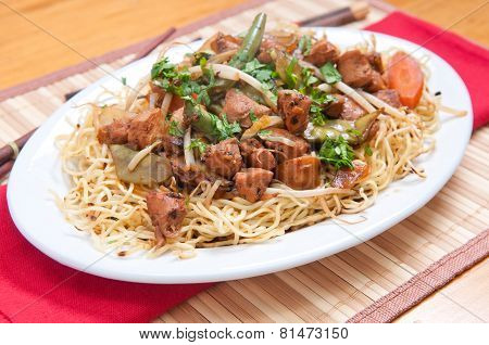 Chicken Chow Mien