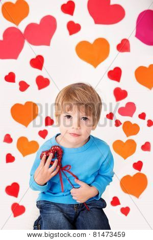 Valentine's Day And Hearts: Kids Fun