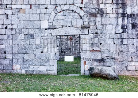 Ancient Ruins Of San Martino Church, Gattico