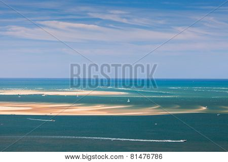 Seascape With Yachts And Boats