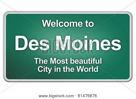 Welcome home to Des Moines