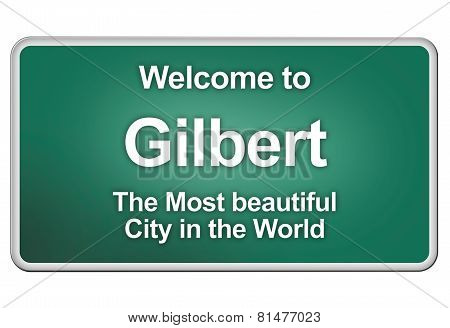 Welcome home to Gilbert