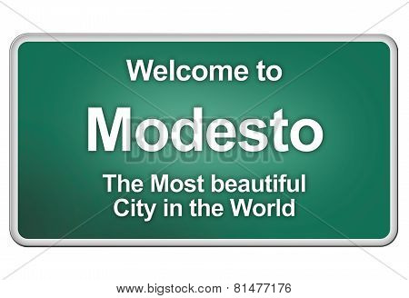 Welcome home to Modesto