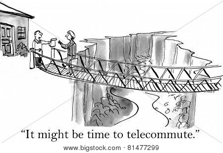 Long Commute versus Telecommute