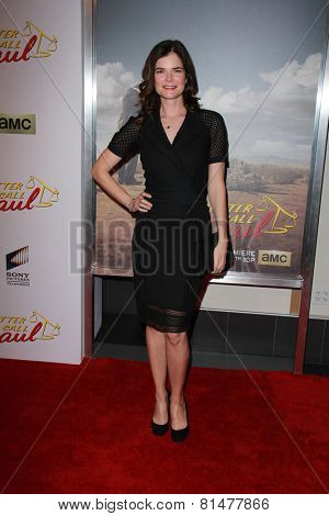 LOS ANGELES - JAN 29:  Betsy Brandt at the