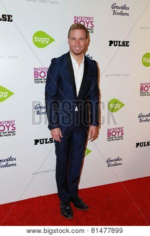 LOS ANGELES - JAN 29:  Brian Littrell at the