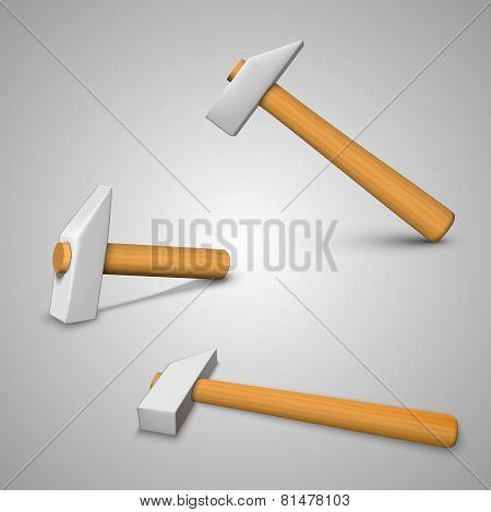 Three hammer