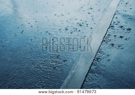 Rain, Autumn Day, Weather - Concept