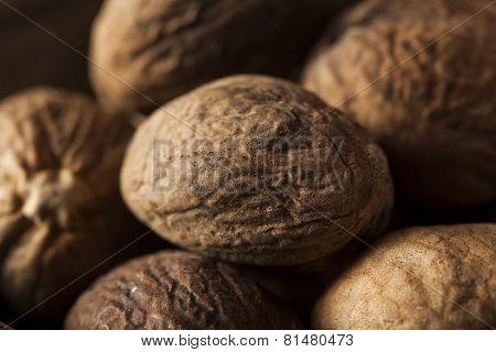 Raw Organic Dry Nutmeg