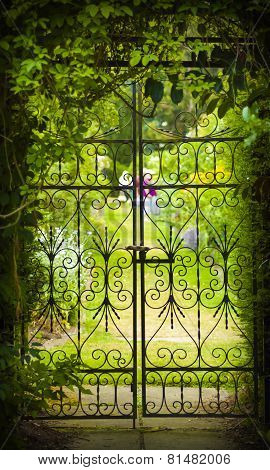 Secret Garden And Iron Gate