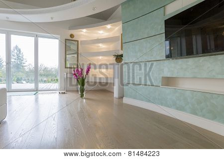 Drawing Room In Pastel Colors