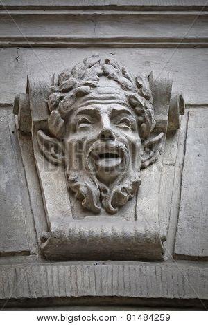 face of a Faun