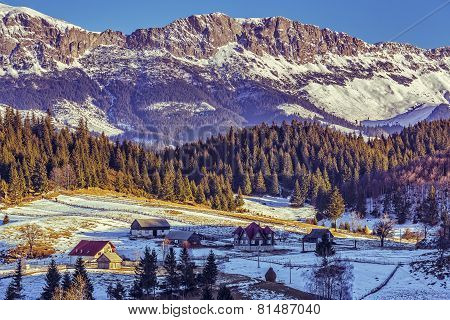 Bucegi Mountains Scenery, Romania