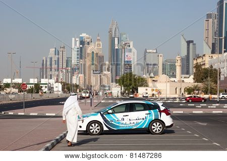 Downtown In Dubai City