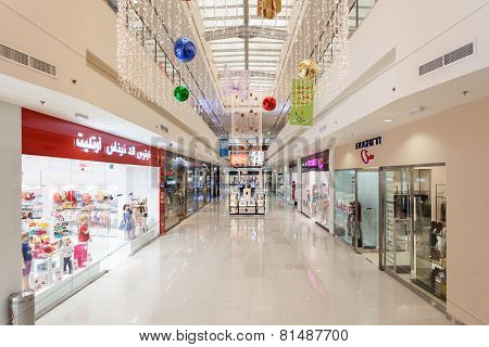 Interior Of Dubai Outlet Mall