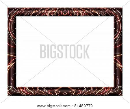 Frame With Abstract Texture