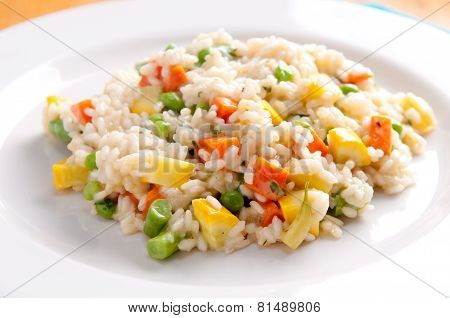 Healthy Vegetarian Risotto