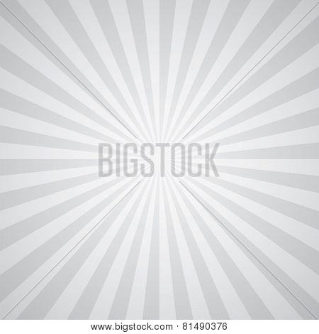 white-gray color burst background.
