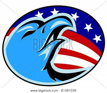 Eagle-head-american-stars-stripes
