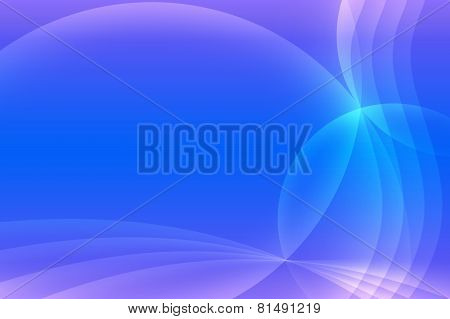 Abstract Blue And Light Puple Background