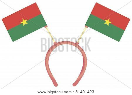 Witty Headdress Flags Burkina Faso