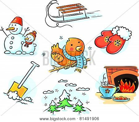Winter set