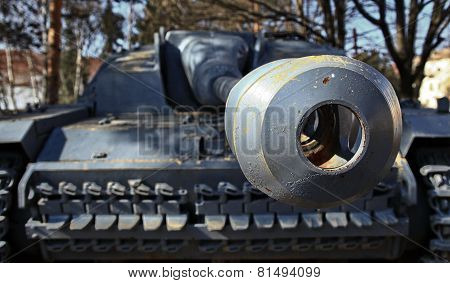 Canon of tank
