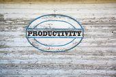 image of productivity  - Productivity Concept  - JPG
