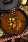 stock photo of traditional  - Moroccan traditional soup  - JPG