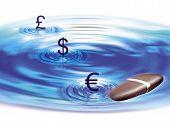 Money Pebble Illustration