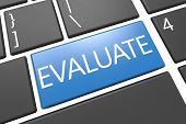 stock photo of performance evaluation  - Evaluate  - JPG