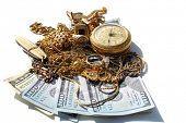 stock photo of cash  - Cash for Gold - JPG