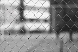picture of safety barrier  - Fence mesh texture background - JPG