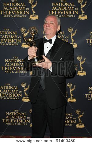 LOS ANGELES - APR 24: Dick Maitland at The 42nd Daytime Creative Arts Emmy Awards Gala at the Universal Hilton Hotel on April 24, 2015 in Los Angeles, California