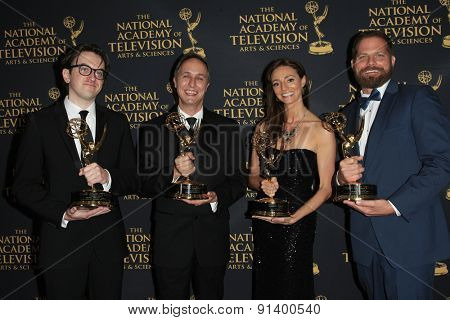 LOS ANGELES - APR 24: Tumble Leaf at The 42nd Daytime Creative Arts Emmy Awards Gala at the Universal Hilton Hotel on April 24, 2015 in Los Angeles, California