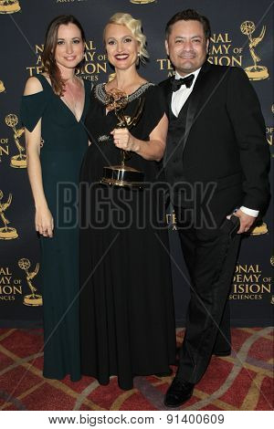LOS ANGELES - APR 24: The Bold and The Beautiful, Costume Design at The 42nd Daytime Creative Arts Emmy Awards Gala at the Universal Hilton Hotel on April 24, 2015 in Los Angeles, California