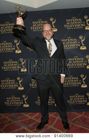 LOS ANGELES - APR 24: Marten Jonmark at The 42nd Daytime Creative Arts Emmy Awards Gala at the Universal Hilton Hotel on April 24, 2015 in Los Angeles, California