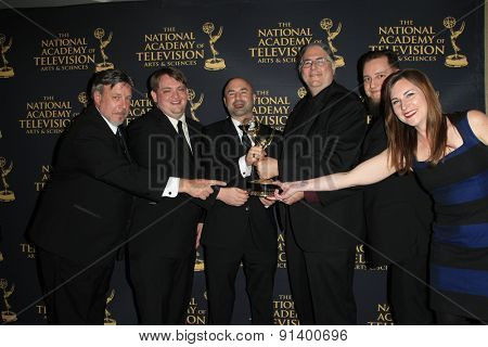 LOS ANGELES - APR 24: Sound Editing Kung Fu Panda at The 42nd Daytime Creative Arts Emmy Awards Gala at the Universal Hilton Hotel on April 24, 2015 in Los Angeles, California