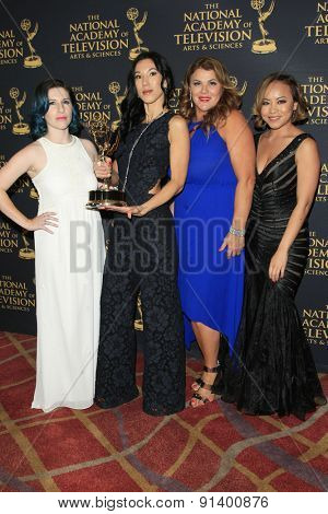 LOS ANGELES - APR 24: Hairstyling, The Young and the Restless at The 42nd Daytime Creative Arts Emmy Awards Gala at the Universal Hilton Hotel on April 24, 2015 in Los Angeles, California